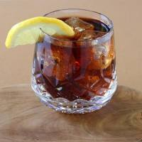 The Meyer Lemon Dark & Stormy