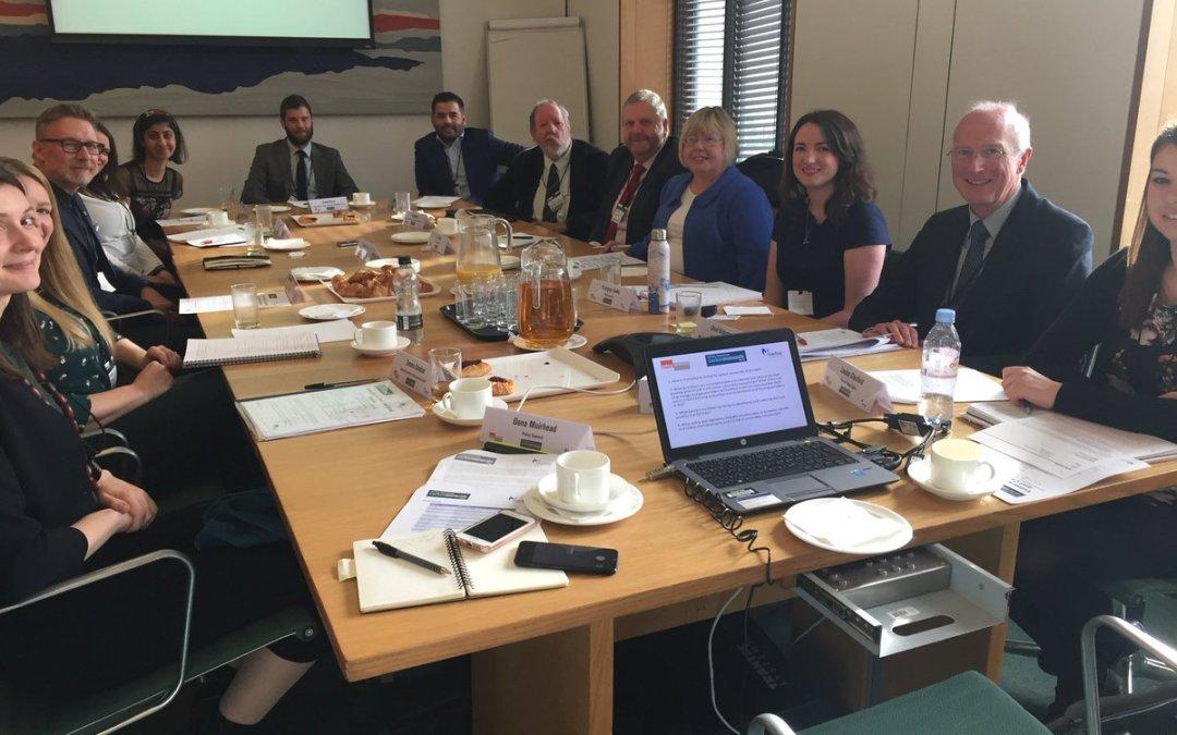 Liz chairs the latest APPCOG meeting