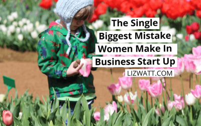 The Single Biggest Mistake Women Make In Business Start Up