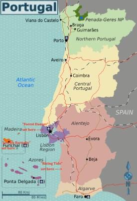 Portugalmap