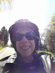 Riding on Harley D.L. Finn