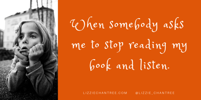 listen meme by Lizzie Chantree