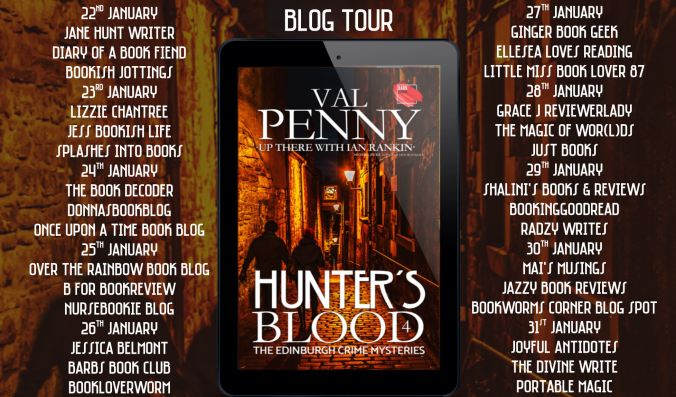 Hunters Blood Full Tour Banner