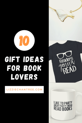 10 gift ideas for book lovers. Pin by Lizzie Chantree