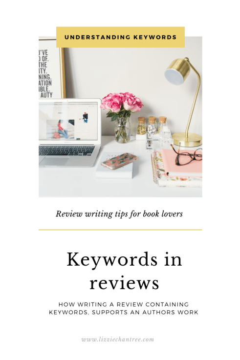 Keywords in reviews. Pin by Lizzie Chantree