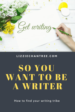want to be a writer meme by Lizzie Chantree