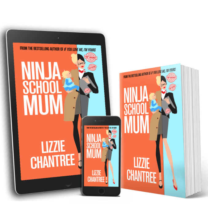 NSM multi book cover by Lizzie Chantree