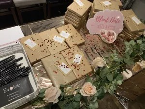 Blind date with a book by Lizzie Chantree