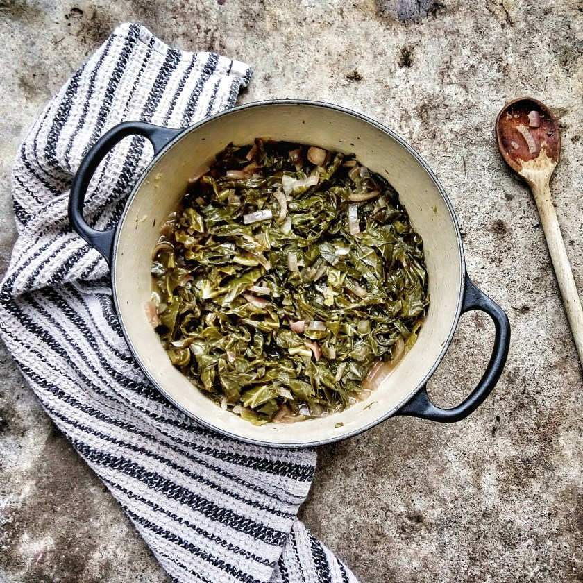 healthy vegan collard greens