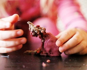 sumac playdough child playing inspired by nature lizzie homemaker