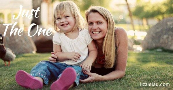 Just The One – Raising an Only Child