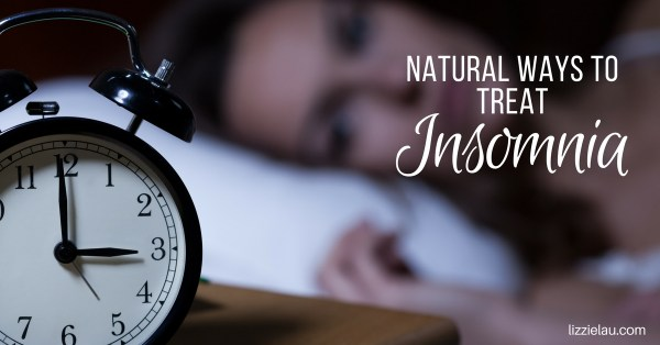 Natural ways to treat insomnia.