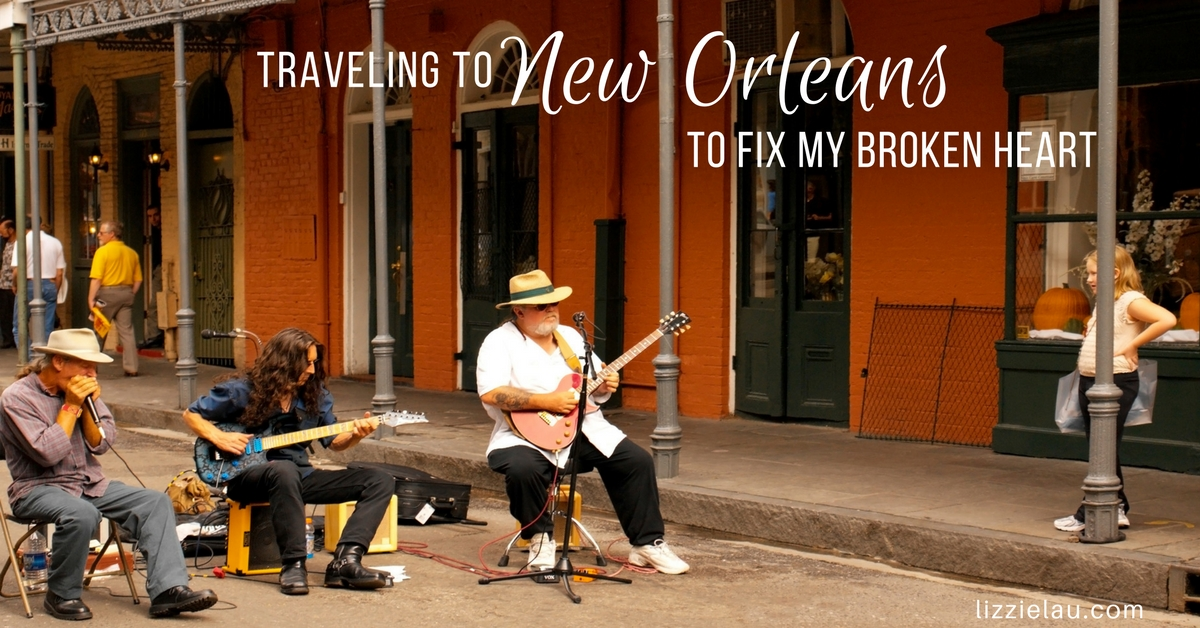 Traveling To New Orleans To Fix My Broken Heart #OneTimeInNOLA