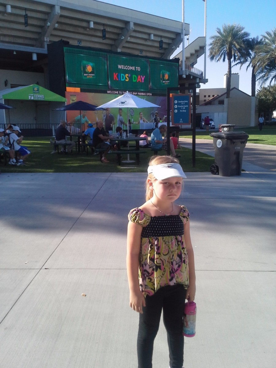 Indian Wells Tennis Garden BNP Paribas Kids Day