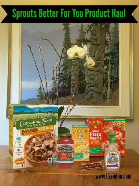sprouts better for you product haul with banner small