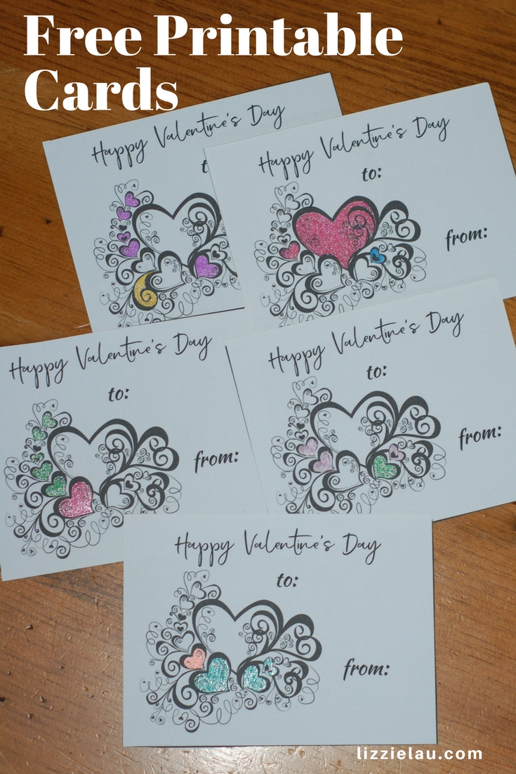 Free Printable Valentines Day Cards