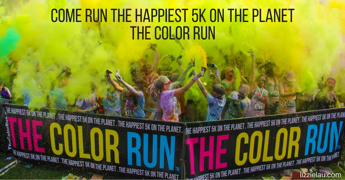 Come Run The Happiest 5K on the Planet – The Color Run #Happiest5K
