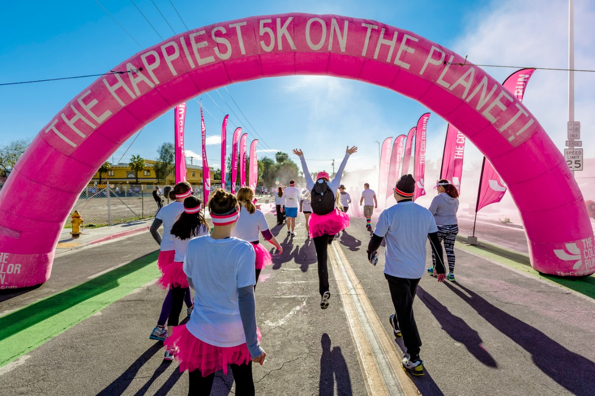 Come runThe happiest 5K on the planet The Color Run