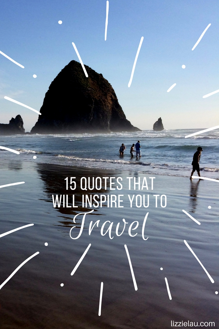 There is much I want to say about travel and how it makes you a better person, but somebody has always said it better - these 15 travel quotes are examples.