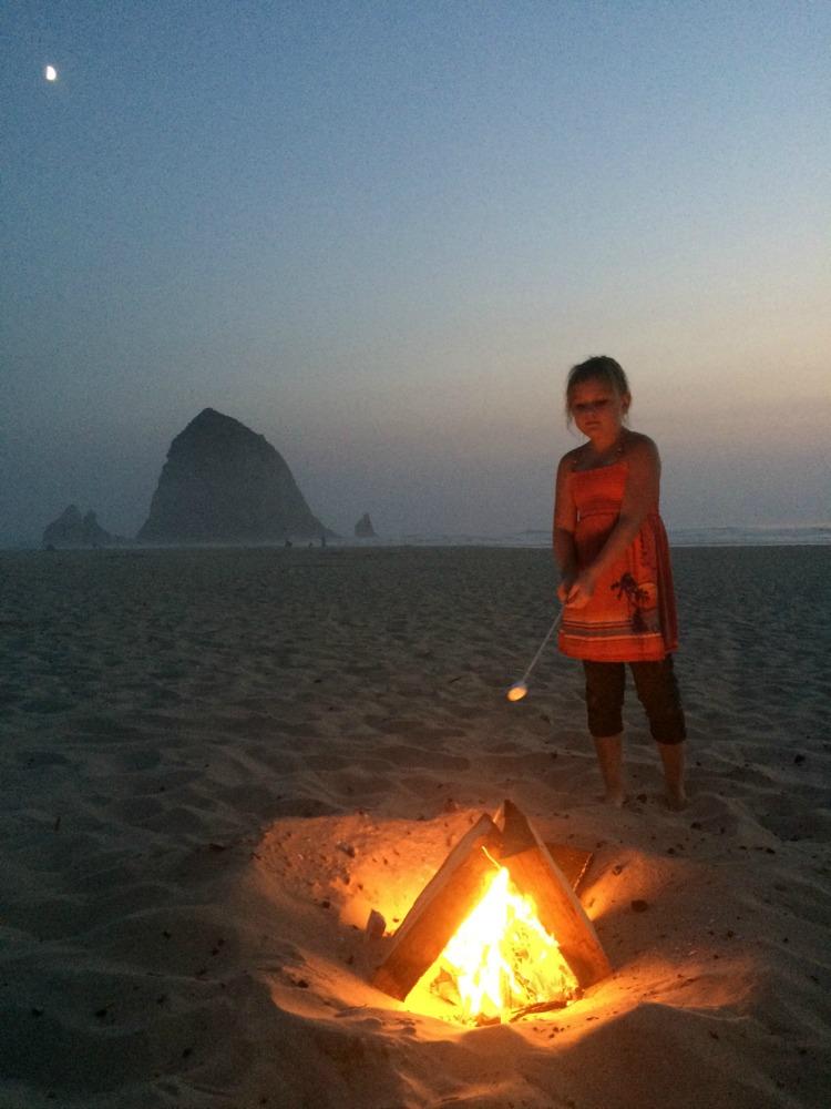 Cannon Beach Campfire