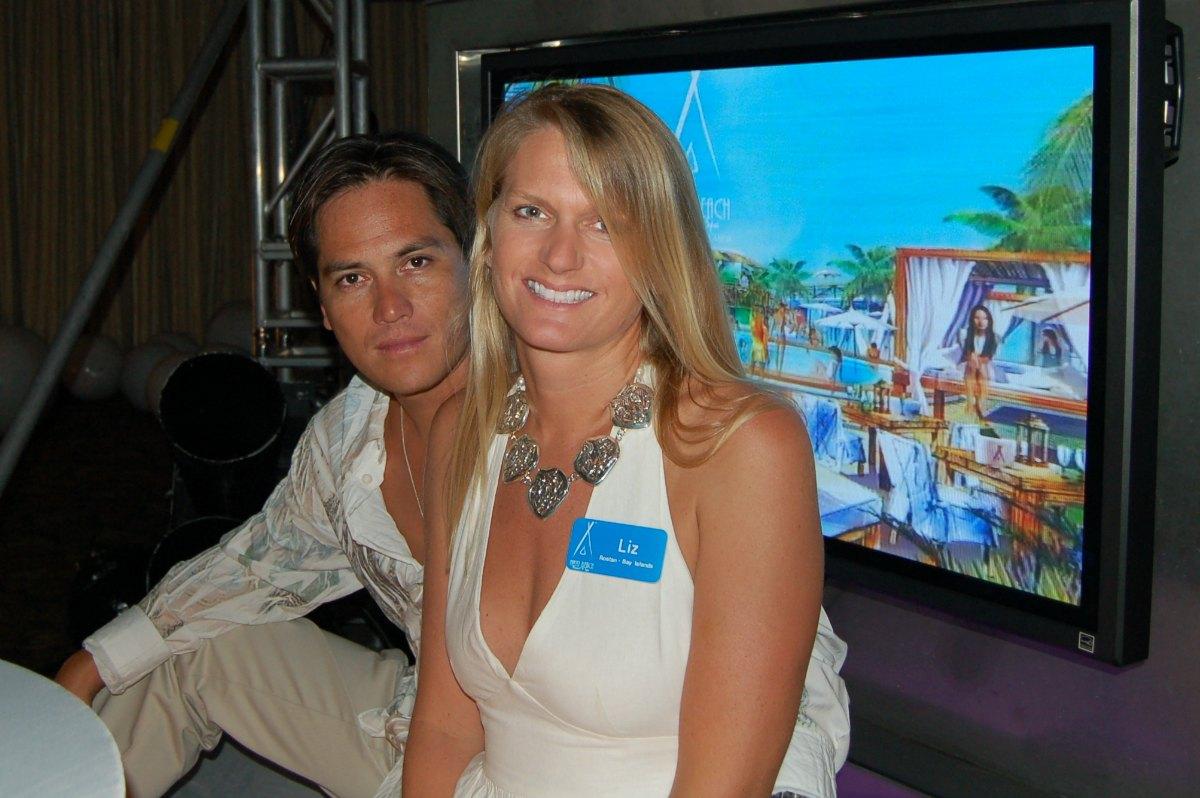 Nikki Beach Tegucigalpa White Party Liz y Beto