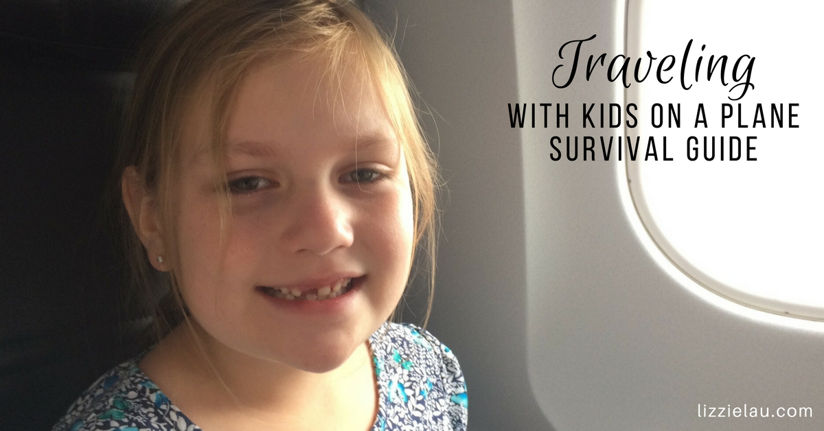Traveling With Kids on a Plane - Survival Guide