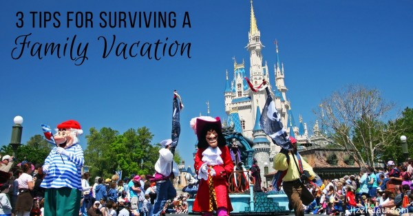 3 Tips For Surviving A Family Vacation