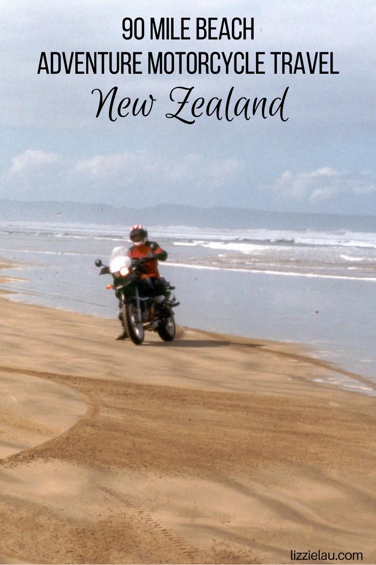 90 Mile Beach New Zealand Adventure Motorcycle Travel