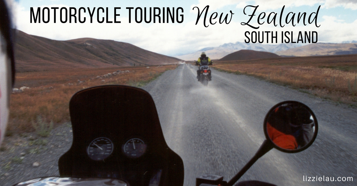 Motorcycle Touring New Zealand South Island