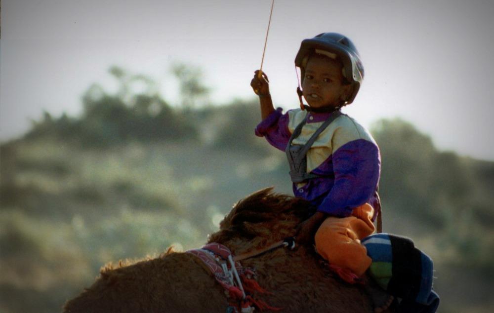 Dubai camel races
