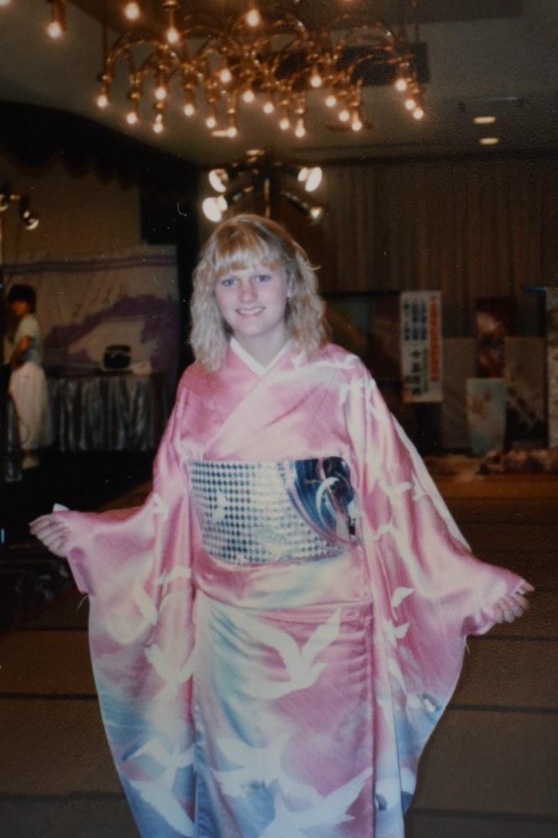 lizzie lau exchange student kimono show