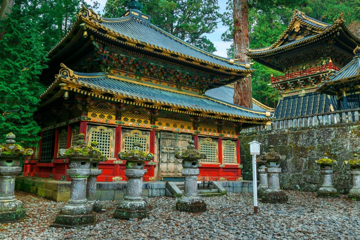tosho gu shinto shrine nara