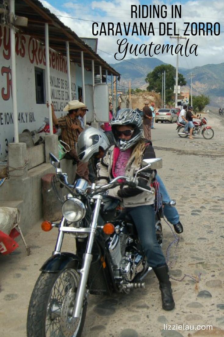Riding in Caravana de Zorro, the coolest Guatemala Motorcycle Experience!  #travel #adventuretravel #advrider #Guatemala