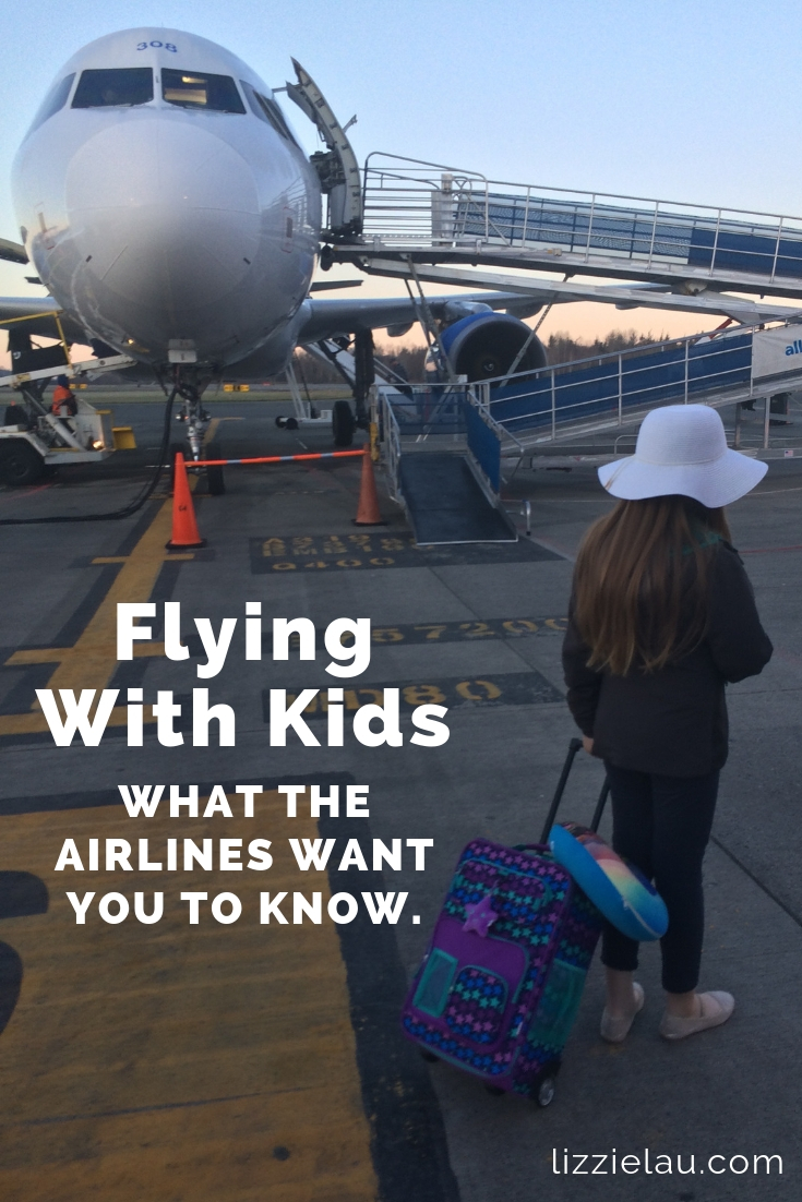 Flying With Kids - What the airlines want you to know