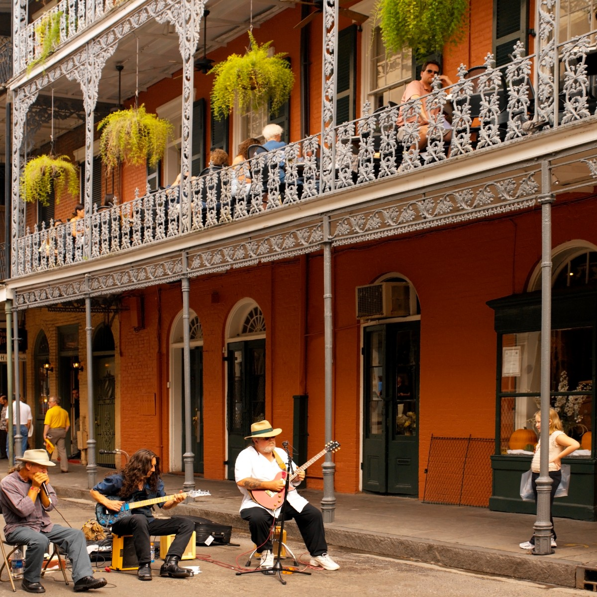 New Orleans jazz with kids