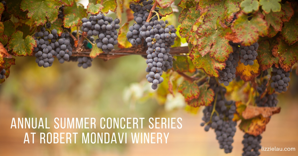 Annual Summer Concert Series at Robert Mondavi Winery