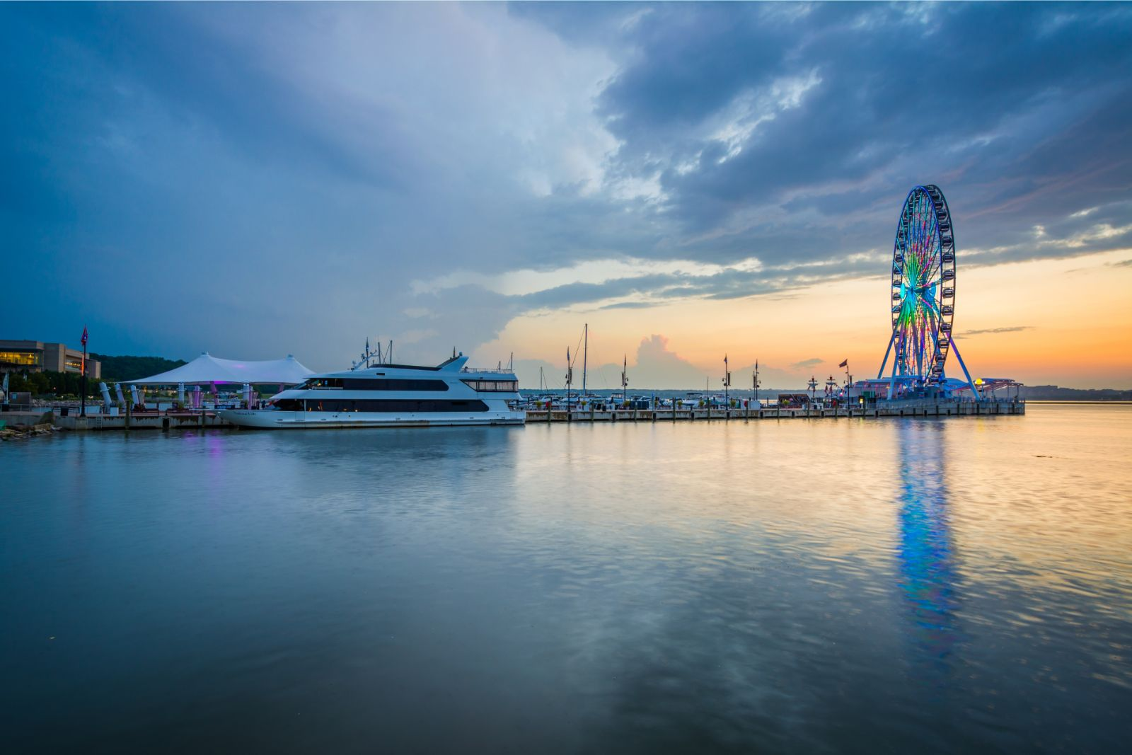 The Capital Wheel in National Harbor Maryland