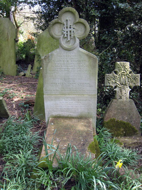 The Rossetti/Siddal grave