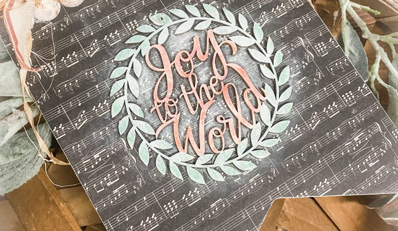 """Joy to the World"" Craft kit"