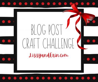 2020 Lizzy and Erin Craft Challenge