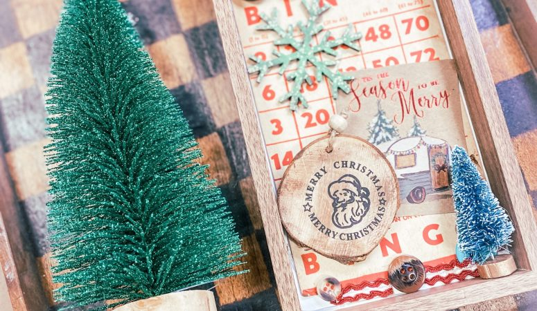 Mixed Media Vintage Christmas Fun