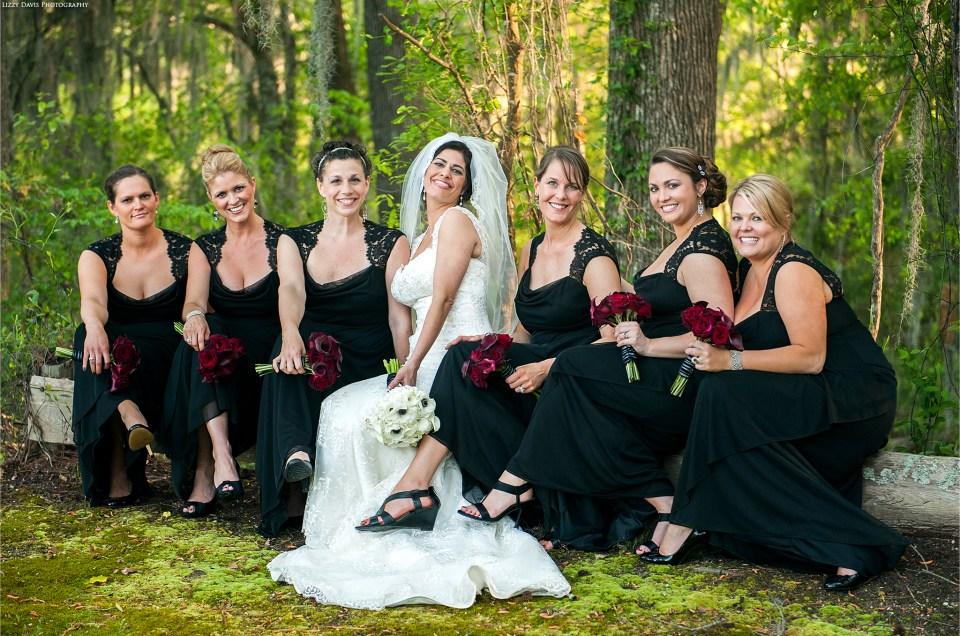 Beautiful bridal portrait by wedding photographer Lizzy Davis.
