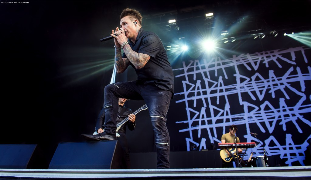Papa Roach live at Welcome to Rockville 2017 in Jacksonville, FL. ©Lizzy Davis Photography