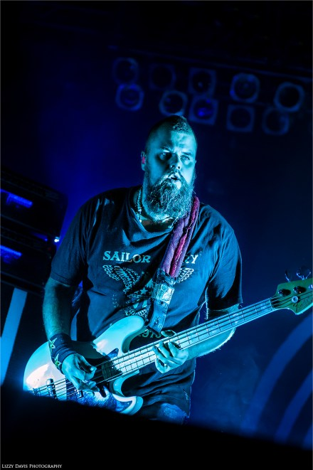 "Mikko ""Mige"" Paananen, bassist of Finland rock band HIM. ©Lizzy Davis Photography"
