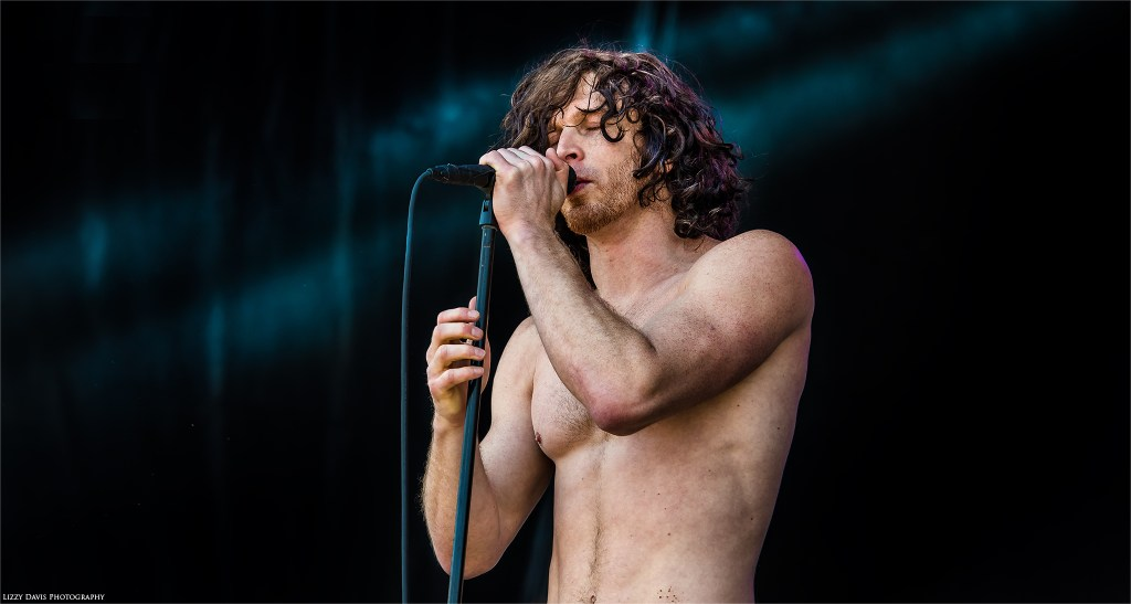 Jonny Hawkins, vocalist of Nothing More performing at Carolina Rebellion 2017. ©Lizzy Davis Photography