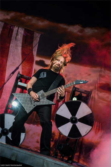 Johan Soderberg - Amon Amarth at Rock on the Range