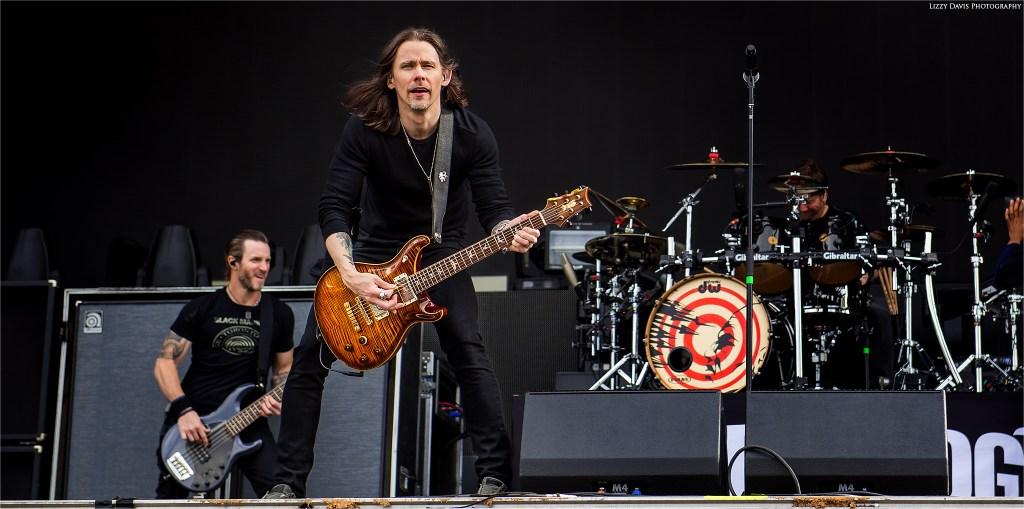 Myles Kennedy, vocalist and guitarist of Alter Bridge at Carolina Rebellion 2017. ©Lizzy Davis Photography