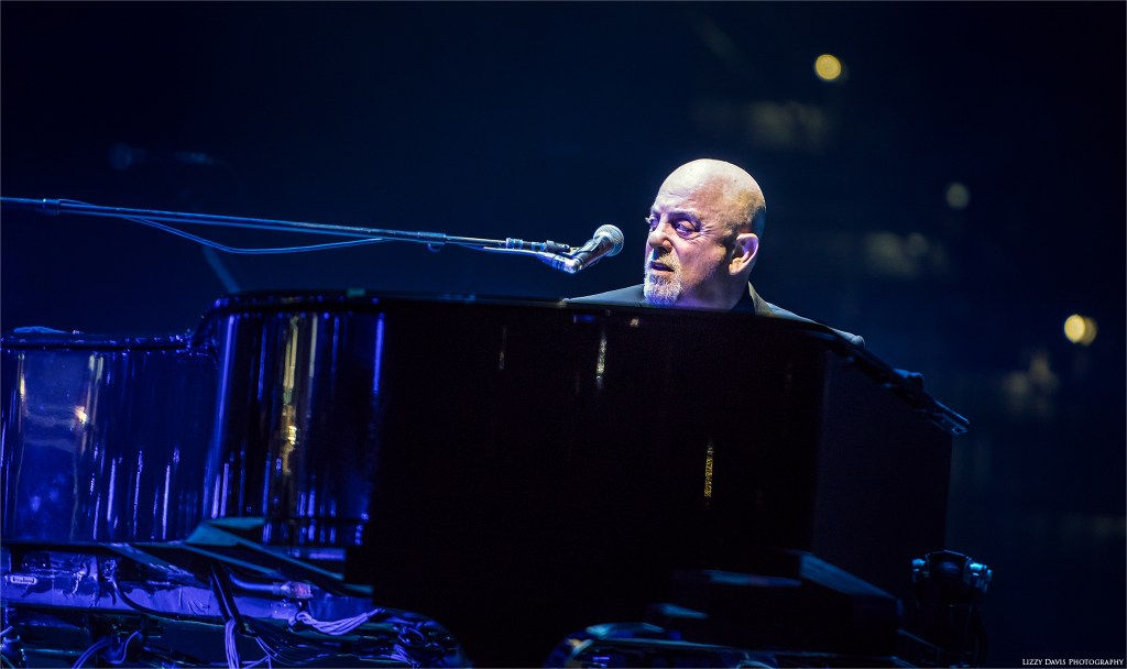 """The Piano Man"" Billy Joel sells out Tampa for the 8th time. Photos by Lizzy Davis."