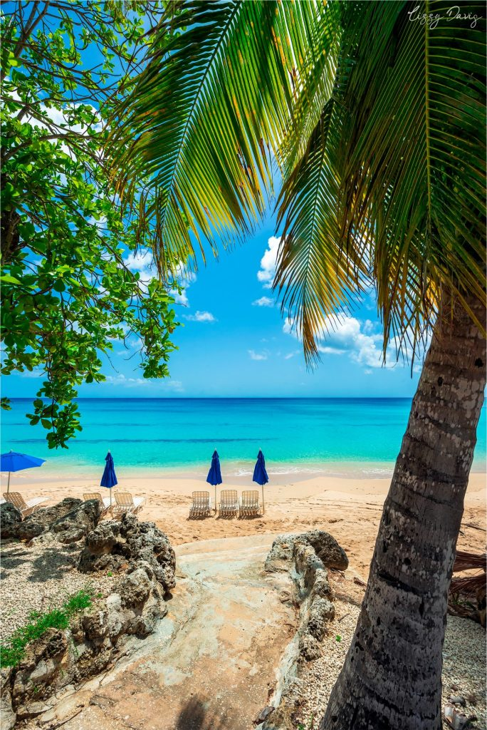 A perfect place to relax on Mullins Beach, Barbados.