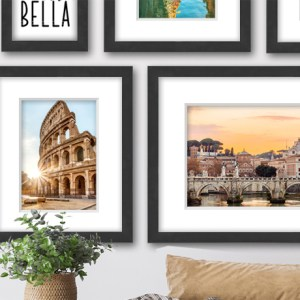 Gallery Frames - Homepage Banner Graphic
